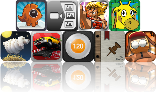 Today's Apps Gone Free: Pangolin, Video 2 Photo, He-Man And More
