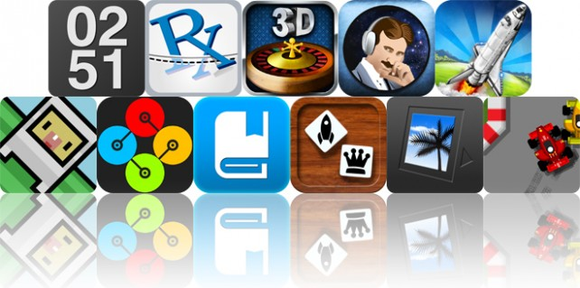 Today's Apps Gone Free: Work Time, PocketPharmacist, Roulette 3D And More