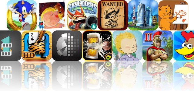 Today's Apps Gone Free: Sonic Dash, Teddy's Night, Skylanders Cloud Patrol And More