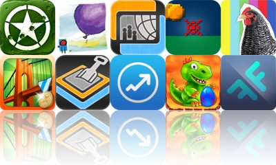 Today's Apps Gone Free: iBomber Attack, Where Do Balloons Go?, RabbleBrowser And More
