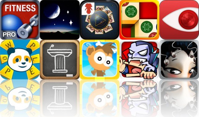 Today's Apps Gone Free: All-In Fitness Pro, Star Rover, FunSlides HD And More