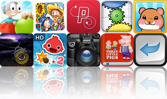 Today's Apps Gone Free: Granny Smith, Van Gogh And The Sunflowers, Path On And More