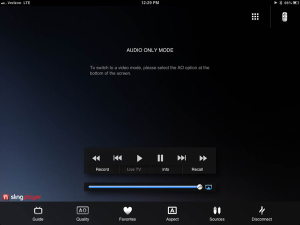 Just Listen To Your Favorite Television Shows With The Updated SlingPlayer Apps