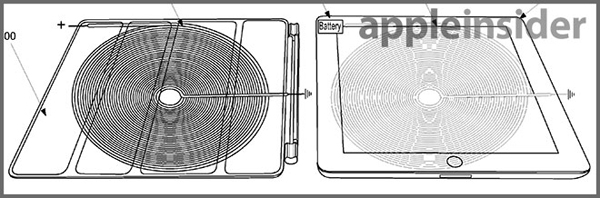 Apple Patent Details Wireless Charging Solution With An iPad Smart Cover