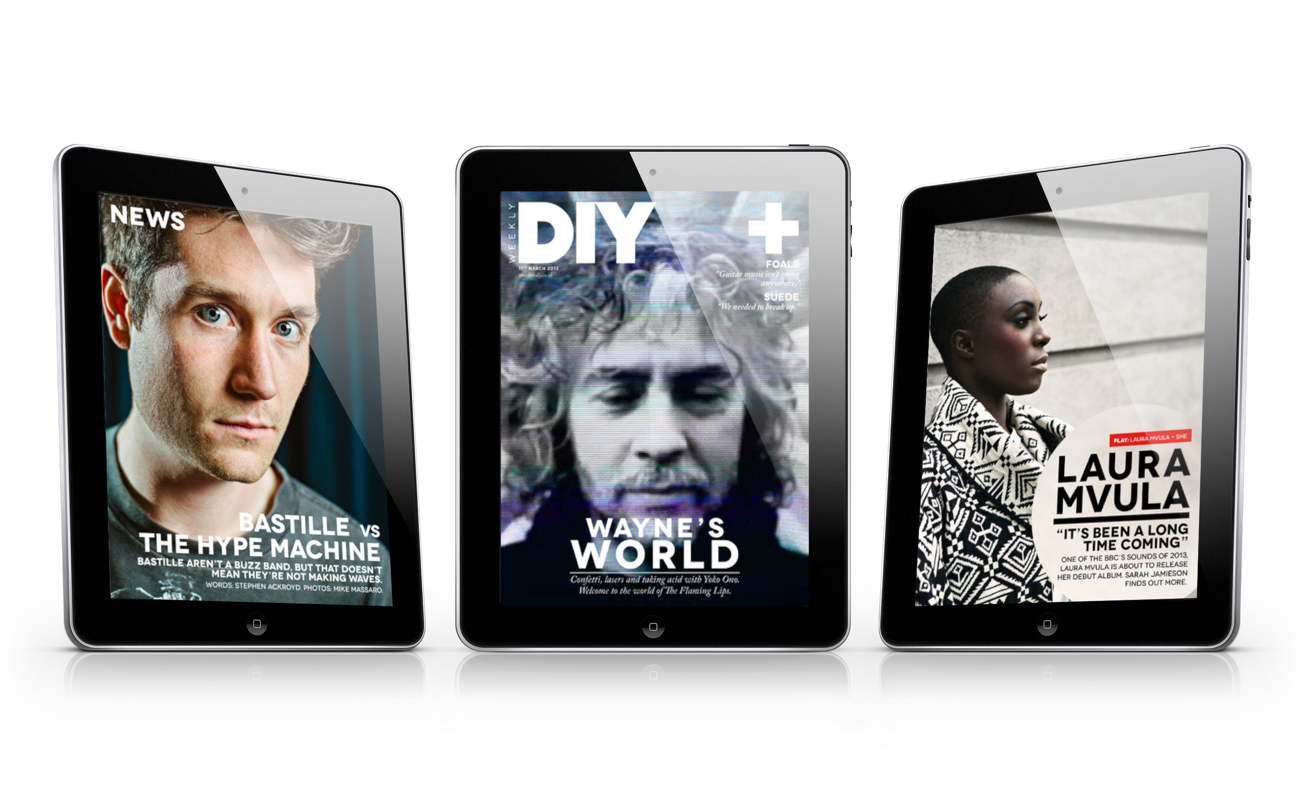 DIY Weekly Launches For iPad Offering The Latest News In The World Of Alternative Music