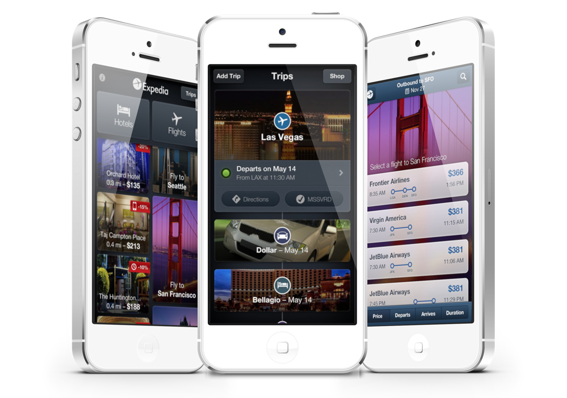 Expedia Hotels & Flights App Now Includes Itinerary Timelines