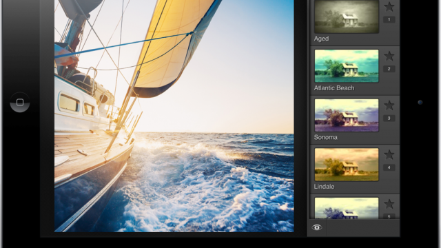FX Photo Studio HD 5.0 For iPad Is Finally Here