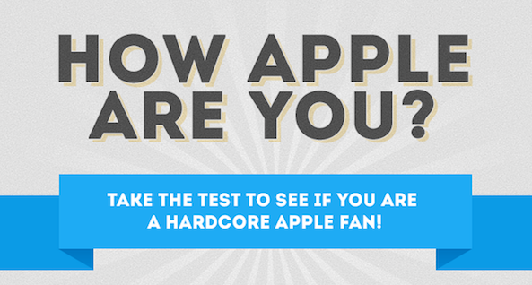 Do You Bleed Apple? Take This Test To Find Out
