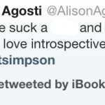 You Must Be At Least 17 To See This Retweet By The iBookstore Twitter Account
