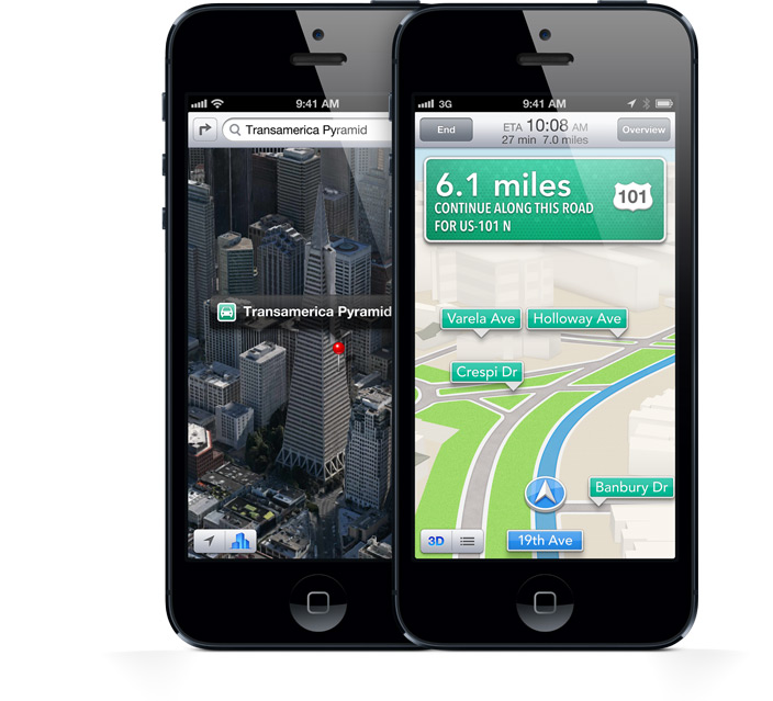 In Road Race Around Cupertino, Apple Maps Beats Google And Waze