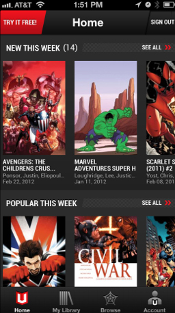 Marvel's New Subscription Service Opens Up More Than 70 Years Of Comic Books
