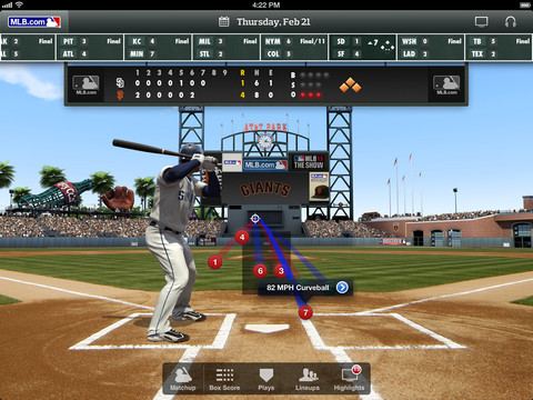 Updated With Freebies: MLB.com At Bat Readies For 2013 Season