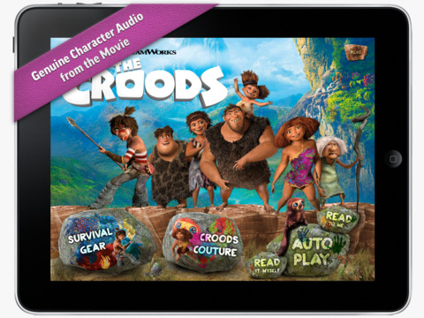 The Croods Movie Storybook Deluxe Features A Prehistoric Family Road Trip Like No Other