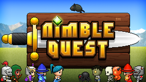 NimbleBit's Super Drool Worthy RPG Nimble Quest Will Hit The App Store On March 28