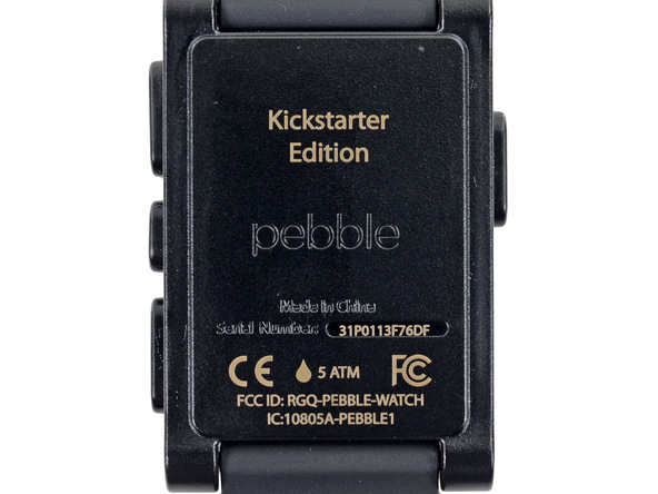 The Pebble Watch Is 'Impossible' To Fix But Should Last A Long Time