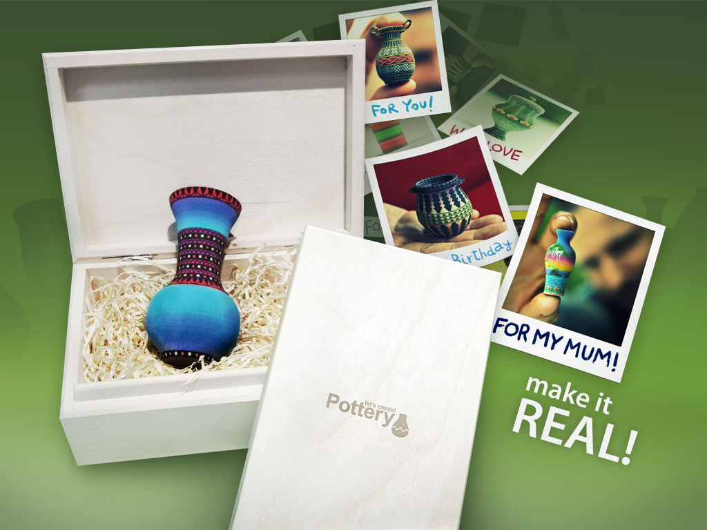 Your Creations Can Come To Life With Let's Create! Pottery HD's New 3-D Printing Functionality