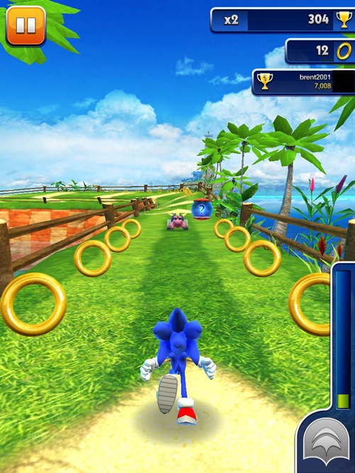 Sonic Dash Now Features New Daily Challenges To Win Prizes