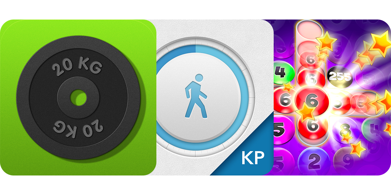 Today's Best Apps: Elite Gym Trainer Pro, Every Body Walk And Numbers Addict 2