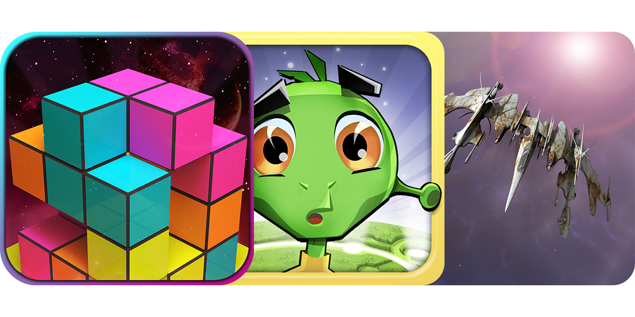 Today's Best Apps: Breaking Blocks, Signal To The Stars And Galactic Conflict RTS