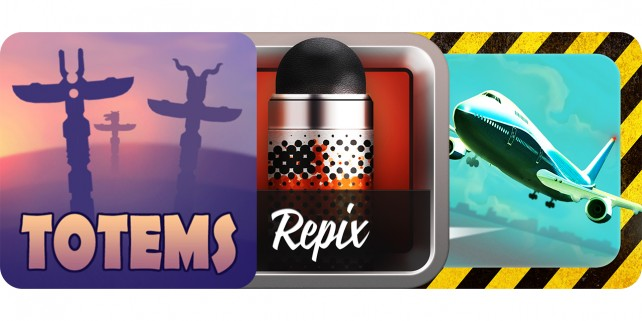 Today's Best Apps: Totems, Repix And Mayday! Emergency Landing