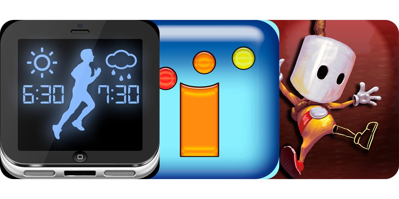 Today's Best Apps: iRun Weather Alarm Clock, iVolution And Big Hangman Of Fortune