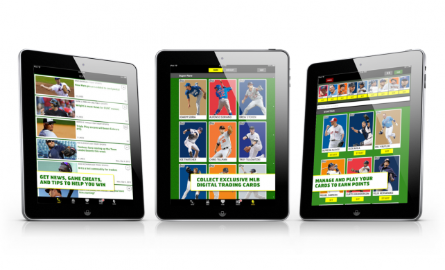 Topps Launches BUNT: The Exclusive MLB Digital Baseball Trading Card Game For 2013