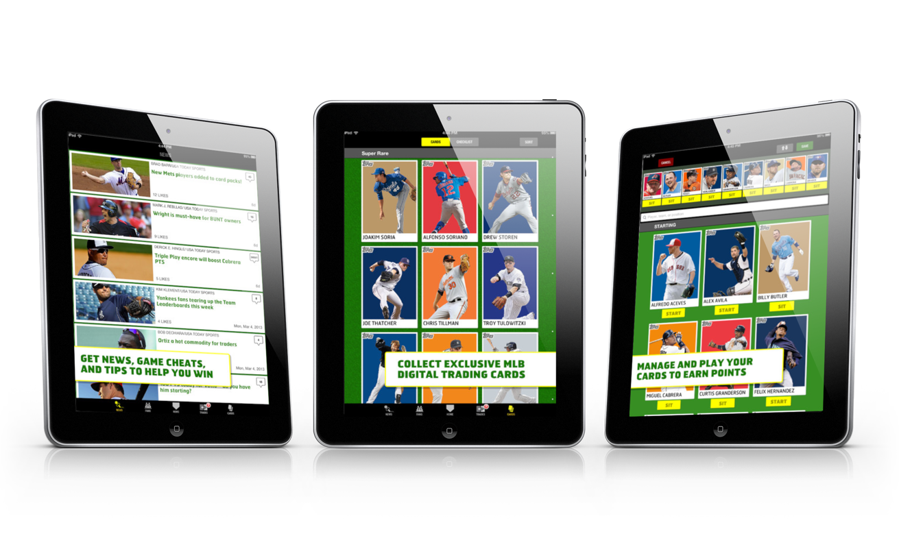 Topps Launches Bunt The Exclusive Mlb Digital Baseball