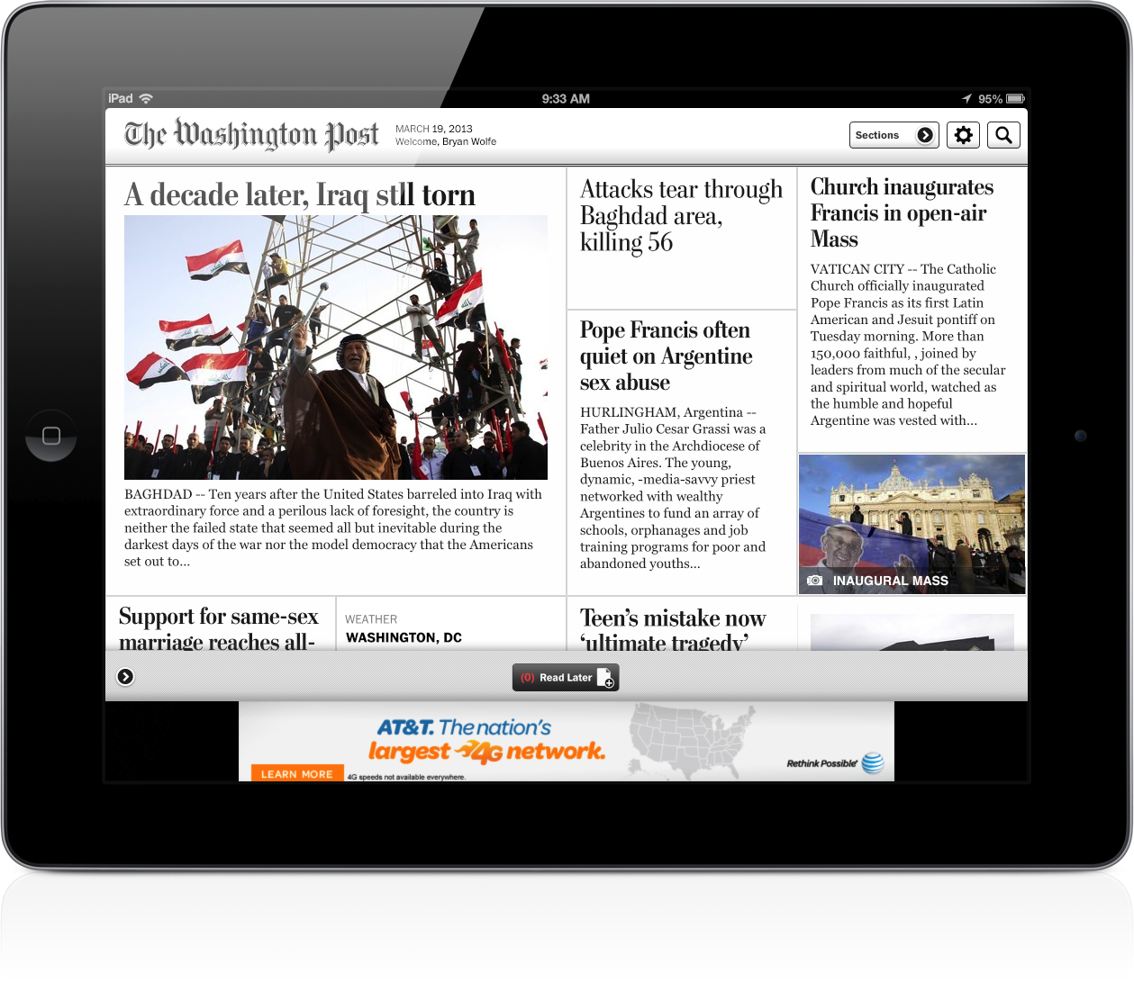 The Washington Post's Paywall Goes Up Later This Year