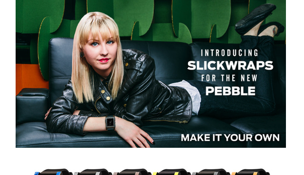 Pebble Watch Slickwraps Make Your New Device Look Even Cooler