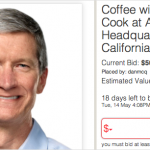 Charity Auction For Coffee With Tim Cook Exceeds $500,000