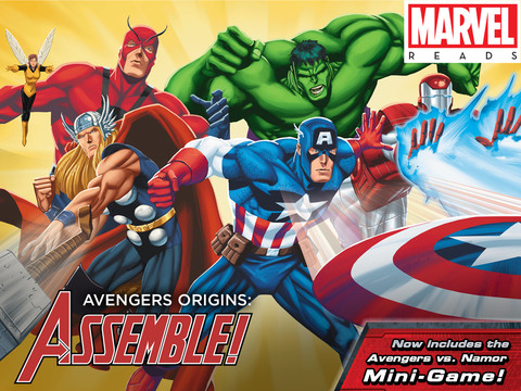 Team Up With A Friend To Play The Mini-Games In Avengers Origins: Assemble!