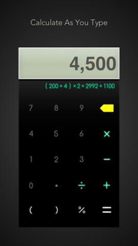 Calzy Is A Snazzy Gesture-Based And Feature-Rich Calculator App For iOS