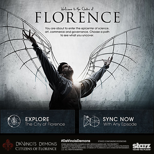 Da Vinci's Demons: Citizens Of Florence Second Screen App Launches On iPad