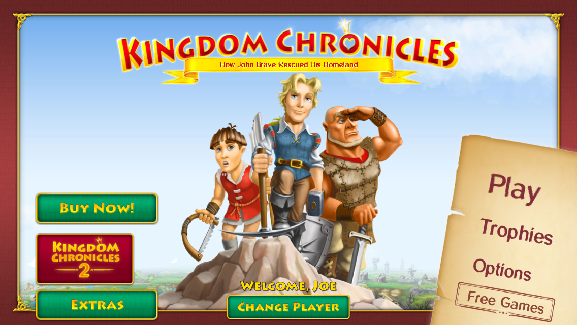 Join The Mighty John Brave And Save The Realm In Kingdom Chronicles