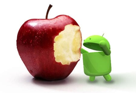 Android Sales Flatline While iPhone Sales Soar