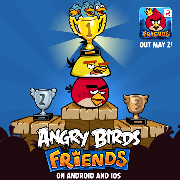 Angry Birds Friends Will Land In The App Store This Thursday