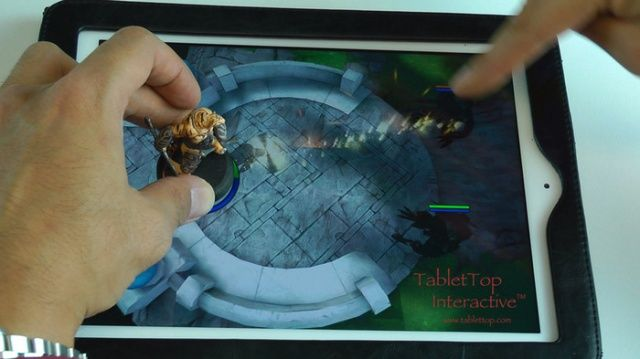 New Kickstarter Project Seeks To Pioneer 'Tablet-Top' iPad Gaming