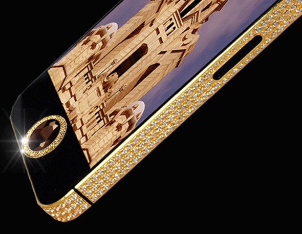 This Gold-Encrusted iPhone Could Be Yours ... For $15 Million