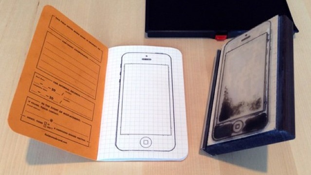 This Homemade iPhone Stamp Makes On The Go UI Sketching A Breeze