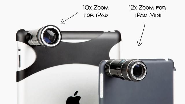 Photojojo Lauches Telephoto Lens For The Budding iPad Photographer