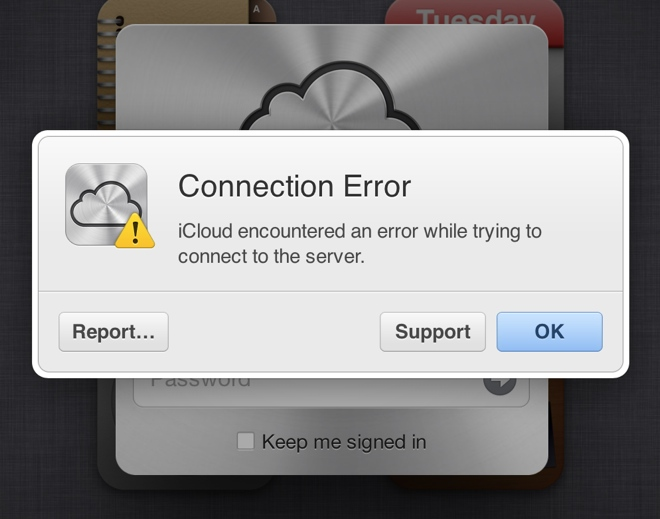 Apple's iCloud Once More Down For Users Around The World