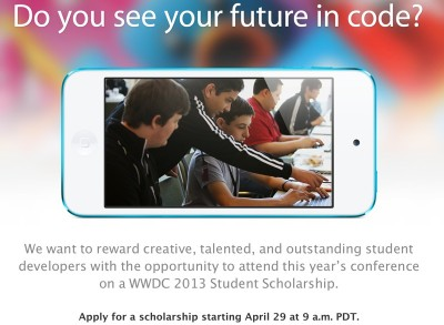 WWDC 2013 Student Scholarships Offer 150 Free Tickets To Student Devs