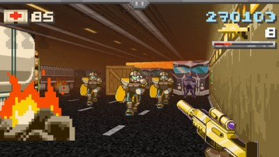 Gun Commando, A Fun, Retro First Person Shooter, Is Available Now