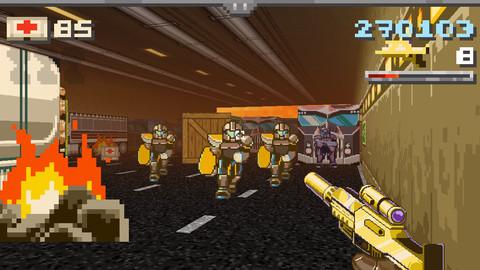 Gun Commando, A Fun, Retro First Person Shooter, Is Available Now