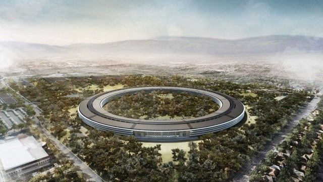 Apple Updates Campus 2 Proposal With Bike Paths, Walkways, And Parking