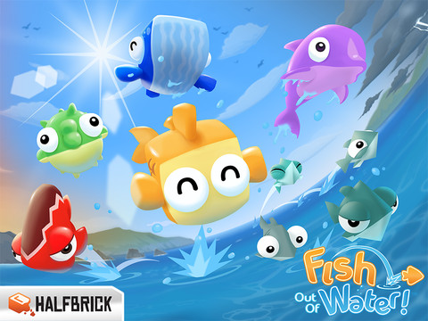 Halfbrick's Fish Out Of Water Is Out Now In The App Store