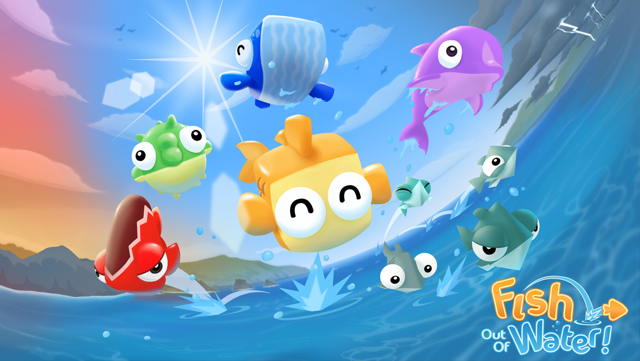 Halfbrick's Fish Out Of Water Set To Make A Splash On iOS This Week