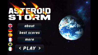 Quirky App Of The Day: A Retro Arcade Gets A Facelift In Asteroid Storm