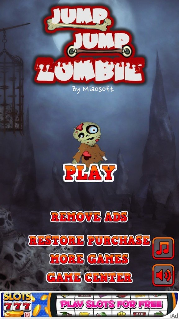 Quirky App Of The Day: Bring The Undead To New Heights In Jump Jump Zombie