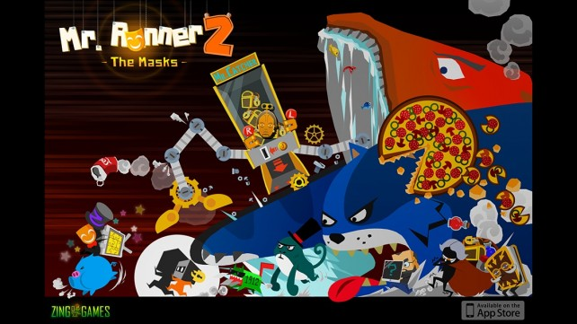 Unlock The Mask And Rediscover Yourself As You Sprint And Stop In Mr. Runner 2, Plus Win A Copy